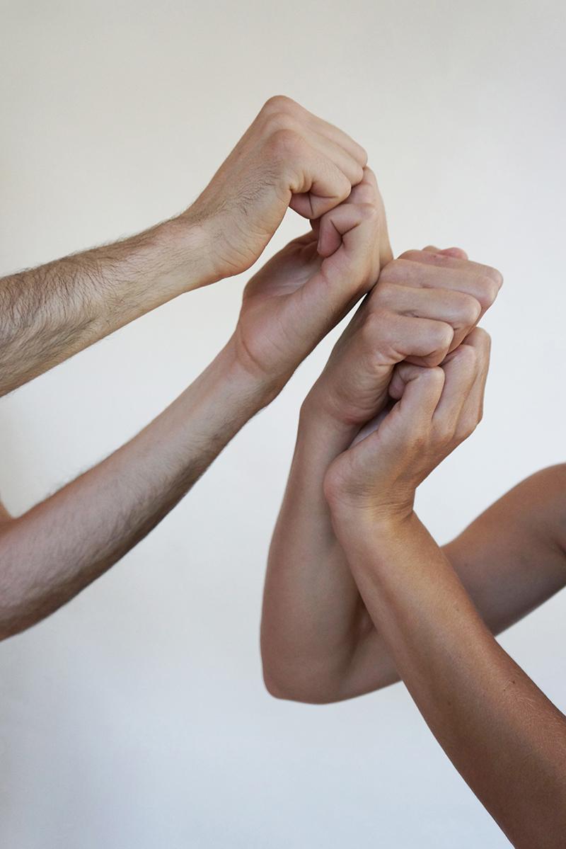 Hands - Marie Sorensen, Frankie DiCiaccio & Tristan Govignon - copyright Marie S.A. Sorensen 2015 - DSC01952