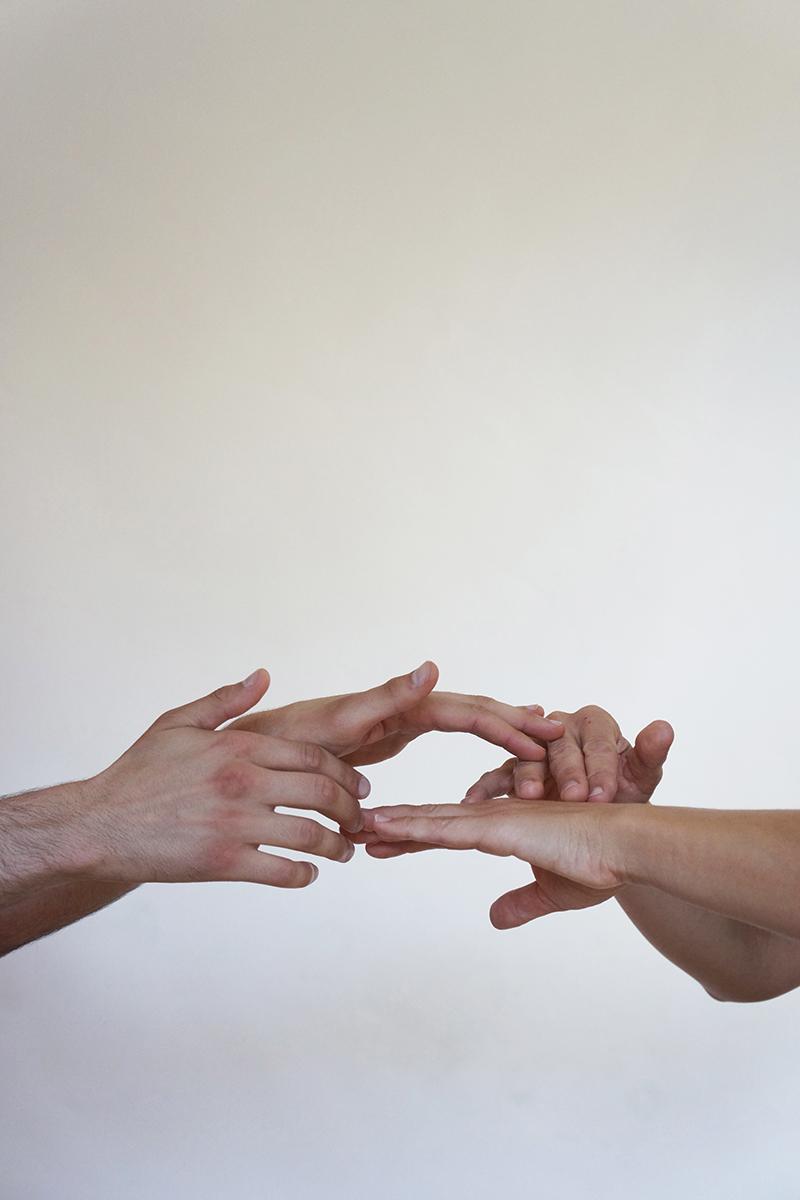 Hands - Marie Sorensen, Frankie DiCiaccio & Tristan Govignon - copyright Marie S.A. Sorensen 2015 - DSC01969