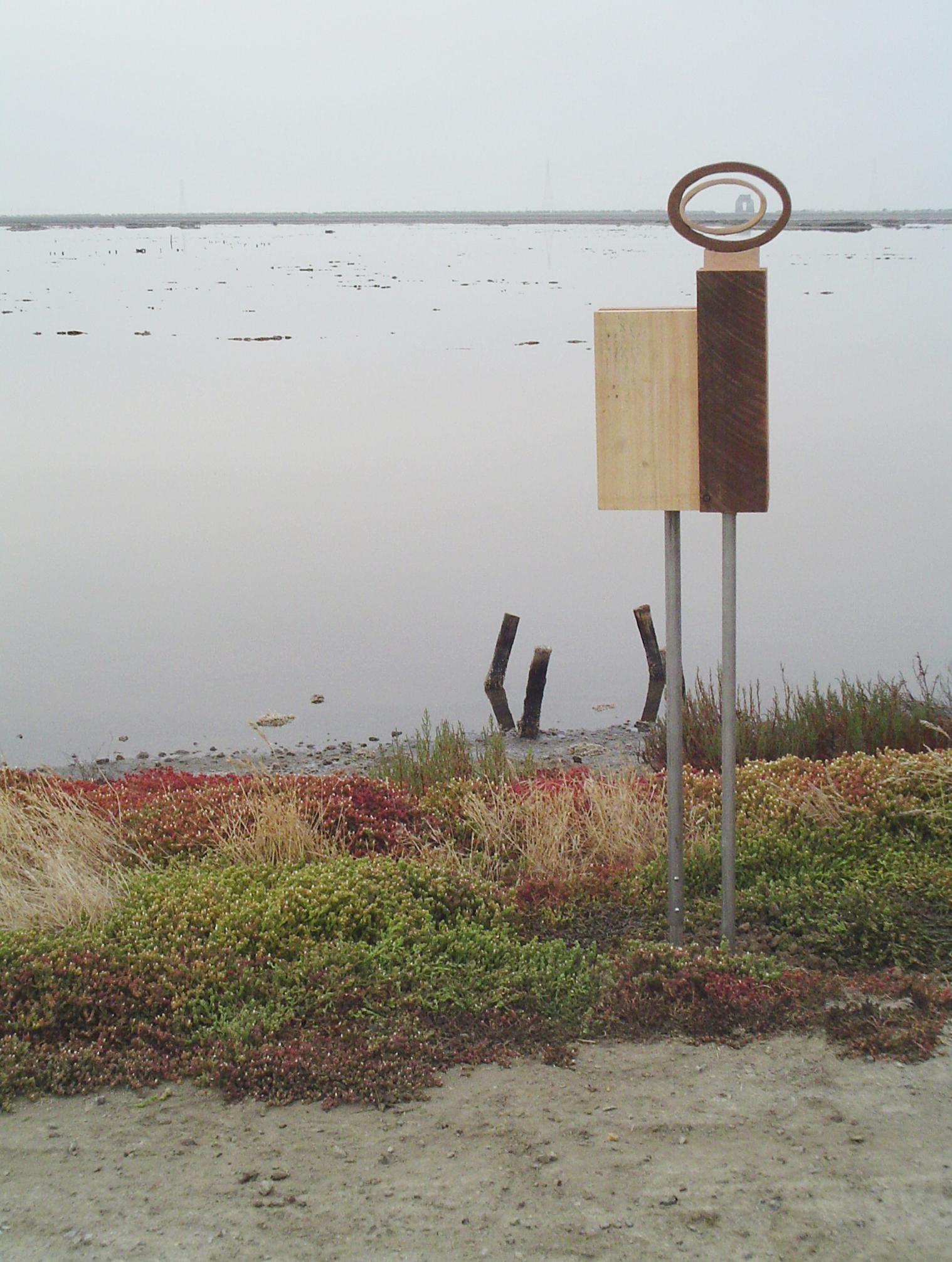 A Bird's Eye View - 4 - SF Bay NWR - Fremont, CA - copyright Marie S.A. Sorensen - 2005