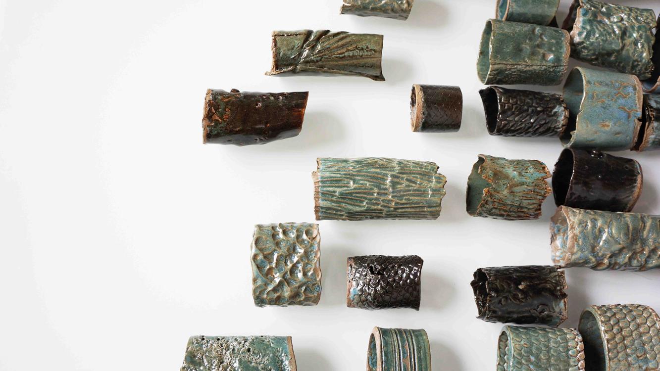 Abacus Stela - 4 - beads - copyright Marie S.A. Sorensen - 2014