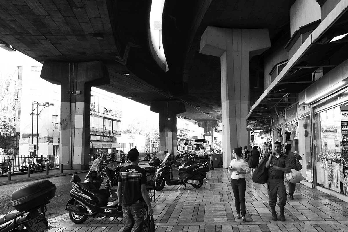 Being Human - 5 - Walk - Tel Aviv - copyright Marie S.A. Sorensen - 2013